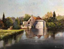 Scotney Castle 40x50cm oil on canvas £250