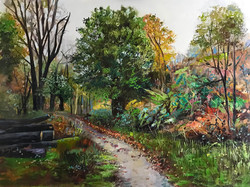 Epping Forest 60x80cm acrylic on canvas £500