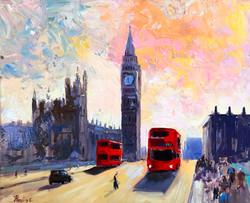 Big Ben oil on canvas 50,5x61cm £250