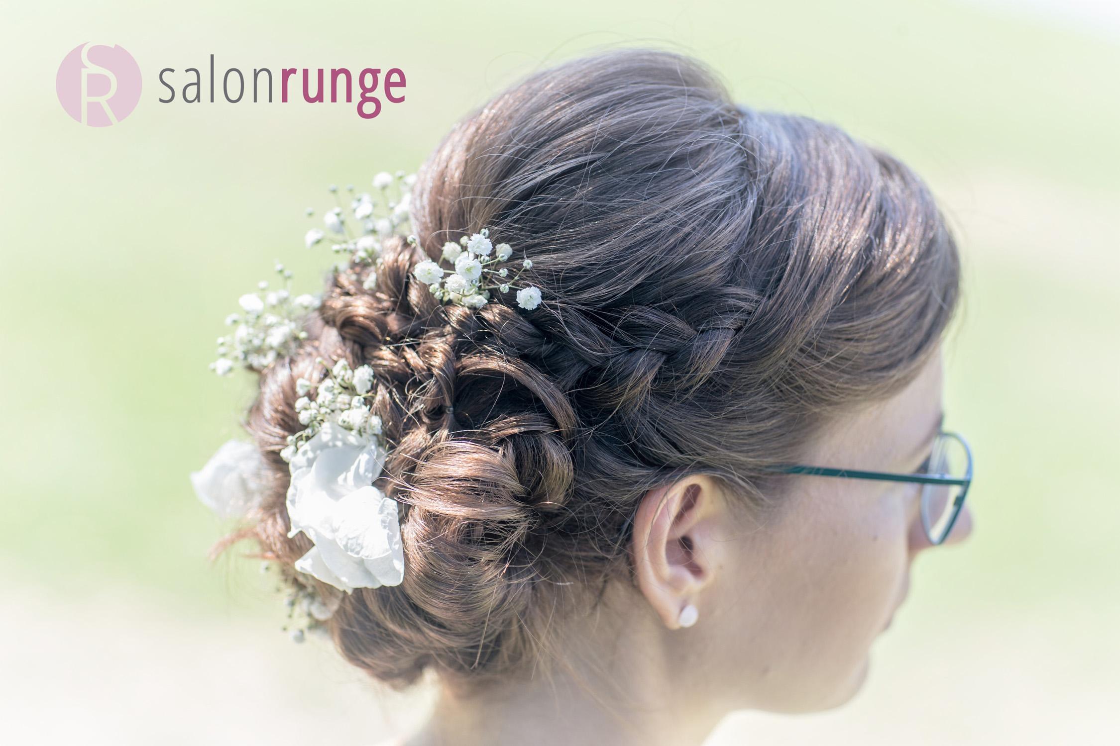 Brautfrisur von Salon Runge