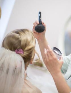 MakeUp bei Salon Runge 1