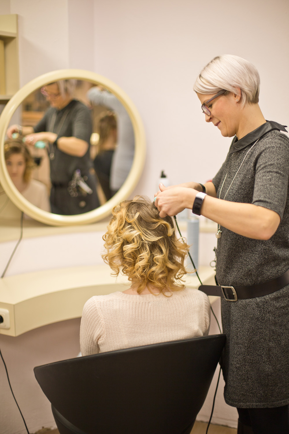 Locken bei Salon Runge 1