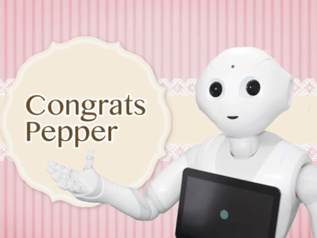 Congrats for Pepper
