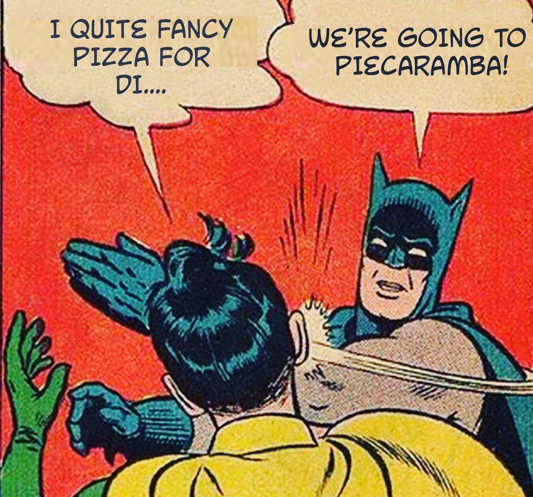Batman says PIE!