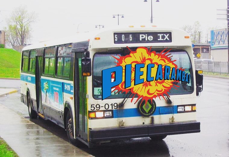 GET ON THE PIE-BUS!