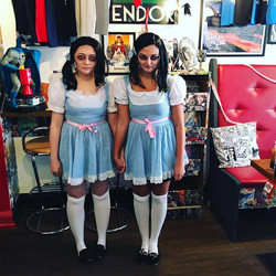 Shining Twins...