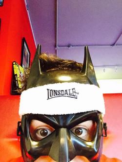 BATMAN AT THE GYM!