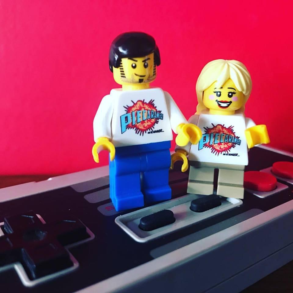 Mr & Mrs Pie Lego Style