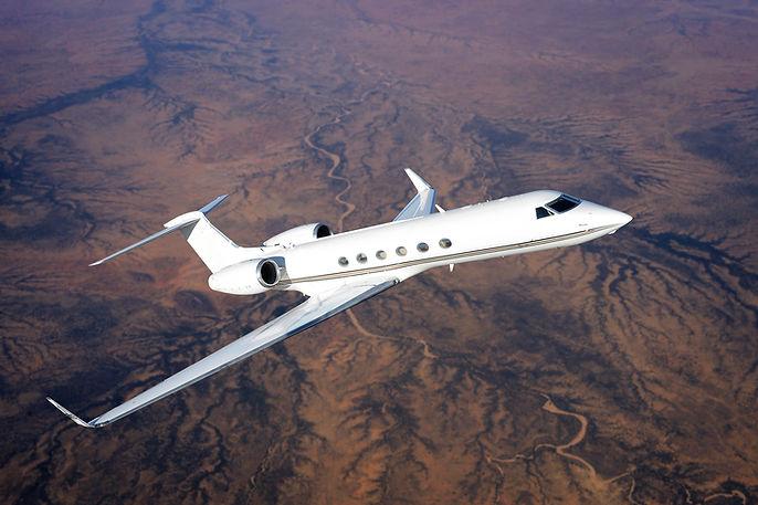 Gulfstream Private Jet