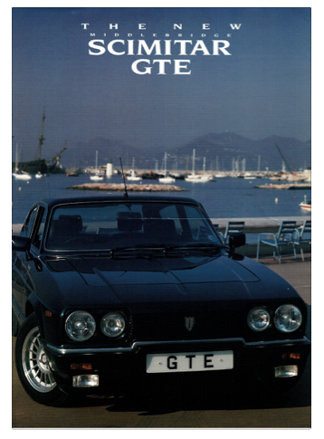 Brochure The New Middlebridge Scimitar GTE
