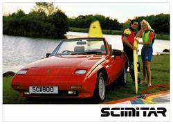 Scimitar SS1 specs sheet October 1988