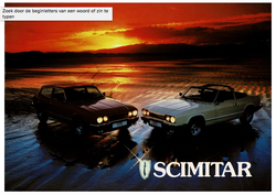 Brochure Reliant Scimitar GTE & GTC b