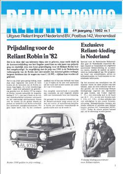 Reliant Revue 1982 nr1