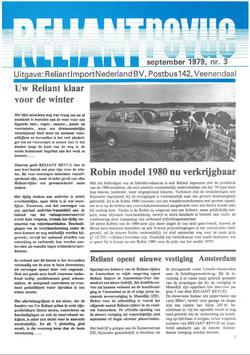 Reliant Revue 1979 nr3