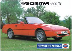 Scimitar 1800 TI info flyer