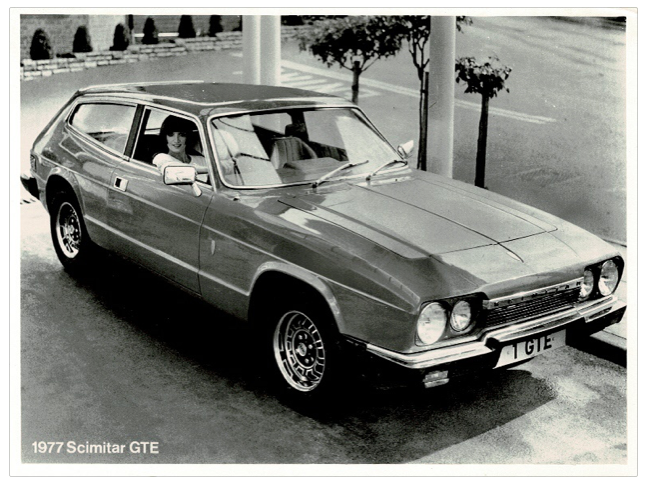 Press photo Reliant Scimitar GTE SE6-A