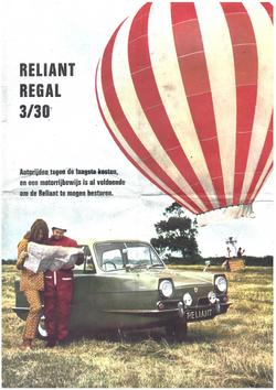 Reliant Regal 30 brochure