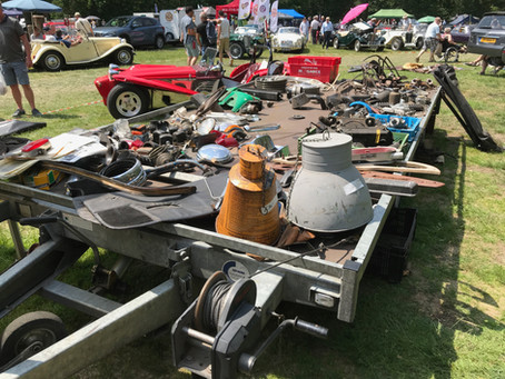 British Car Jumble, 23 juni 2019