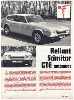 Autokampioen 1977 test SE6A