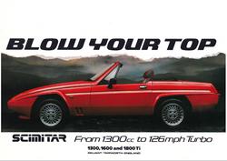 Scimitar 1300 1600 1800 TI brochure