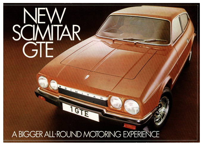 Brochure Reliant Scimitar GTE 6A bigger