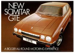 Brochure Reliant Scimitar GTE 6A bigger
