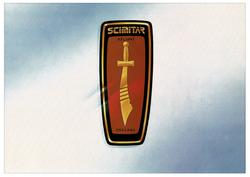 Brochure Reliant Scimitar SS1 a