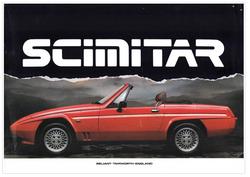 Mini brochure Reliant Scimitar SS1