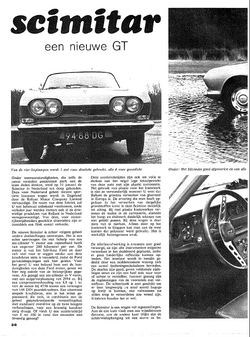 Autovisie 1967 test SE4