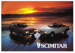 Brochure Reliant Scimitar GTE & GTC c