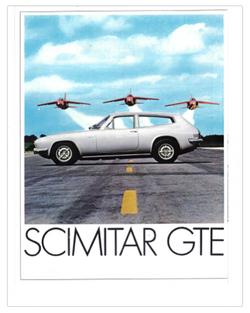 Brochure Reliant Scimitar GTE SE5 1971