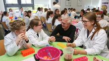 Nobel Prize winner visits Cell EXPLORERS