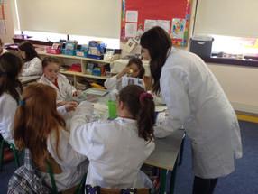 Fantastic DNA school visits begin!