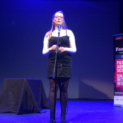 Brilliant talk by Cell EXPLORERS Cora at Famelab Galway 2019