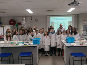 Hands on Science with Cell EXPLORERS & Kitchen Chemistry at NUI Galway Youth Academy