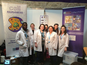NUI Galway stall at BT Young Scientist & Technologist Exhibition