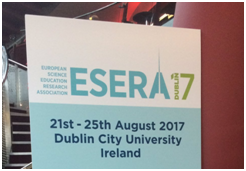 The Cell EXPLORERS research team go to ESERA17!