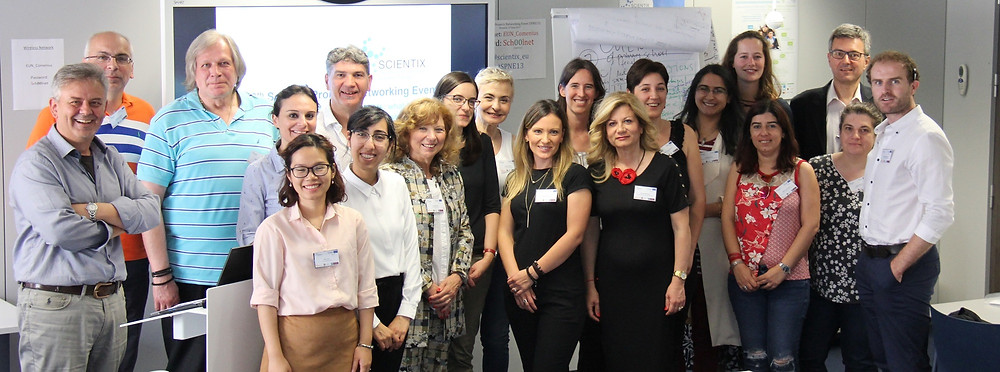 Attendees at the 13th Scientix Projects' Networking Event, June 27th 2018, Brussels.