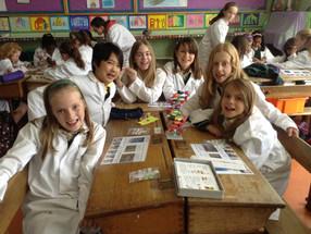 Fantastic DNA school visit to Scoil Ide, Salthill