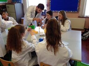 Fantastic DNA school visit!