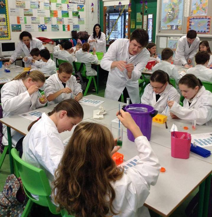Fantastic DNA school visit