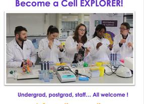 Cell EXPLORERS NUI Galway volunteer meet & greet!