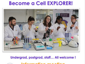 Cell EXPLORERS NUI Galway volunteer meet & greet!