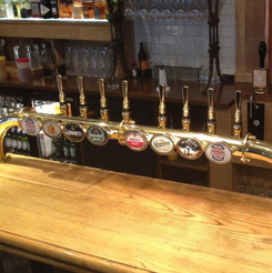 draught beer taps fitted london