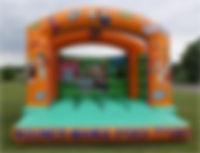 Bouce Mania flintsones castle