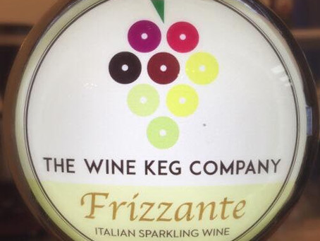 Frizzante by the keg