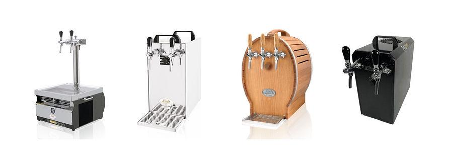 Darught keg beer dispensers