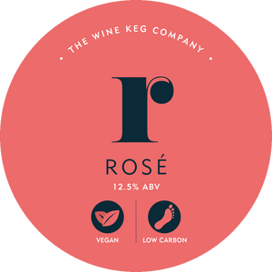 Keg rose wine