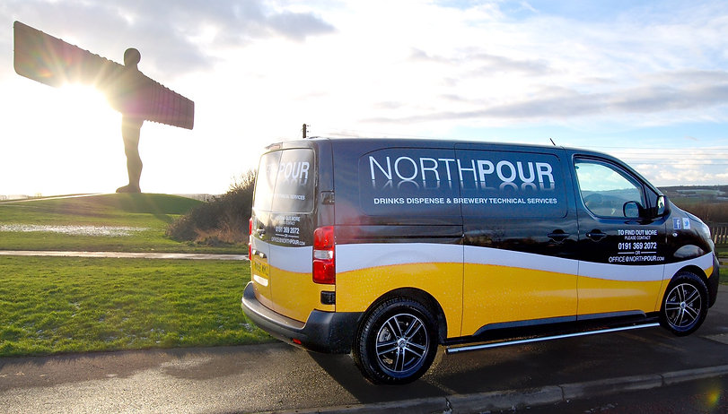 Northpour brewerry services van angel of the north