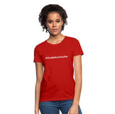 Womens Chat Before You Pat T-shirt